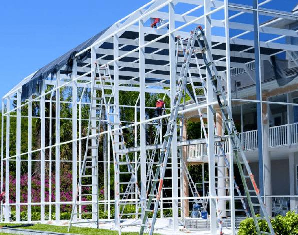 Pool Cage Restoration